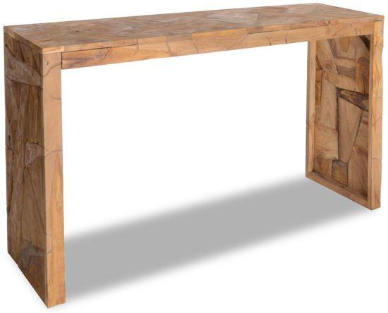 Sidetable Bruin Hout.Sidetable Side Table Wandtafel Muurtafel Tafel Hout Bruin 120x35x76cm
