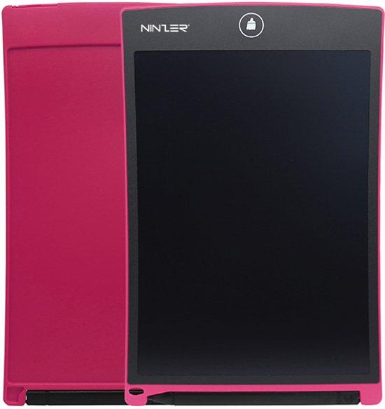Ninzer Ultra Dunne Digitale lcd Schrijf en Tekenen Tablet met Stylus Pen, 8,5 inch | Roze