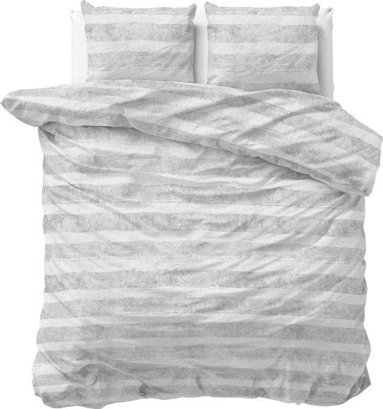 Sleeptime Mari - Dekbedovertrekset - Tweepersoons - 200x200/220 + 2 kussenslopen 60x70 - Grijs