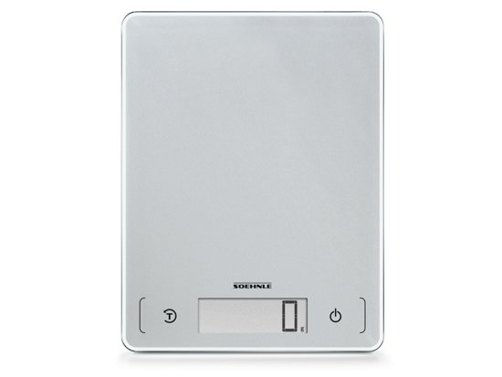 Soehnle - Page comfort 300 slim - Digitale keukenweegschaal - Zilver