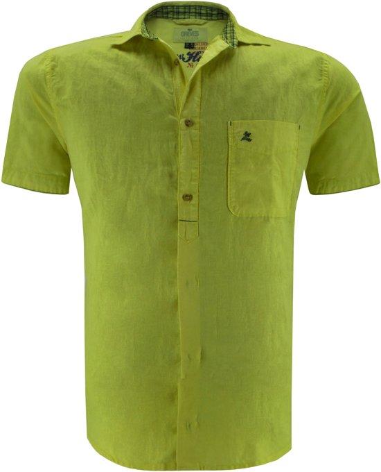 Geel Overhemd.Bol Com Greyes T Shirt Overhemd Geel 4xl
