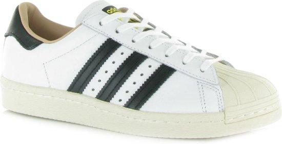 80s Superstar Adidas Chaussures Sneakers Lo Blanc Vert Vert Blanc eZmpc8