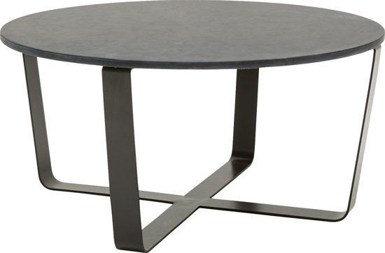 Goossens wonen slapen salontafel stone for Goossens meubelen
