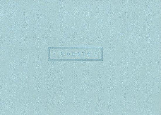 Artisan Guest Book/Sea Foam