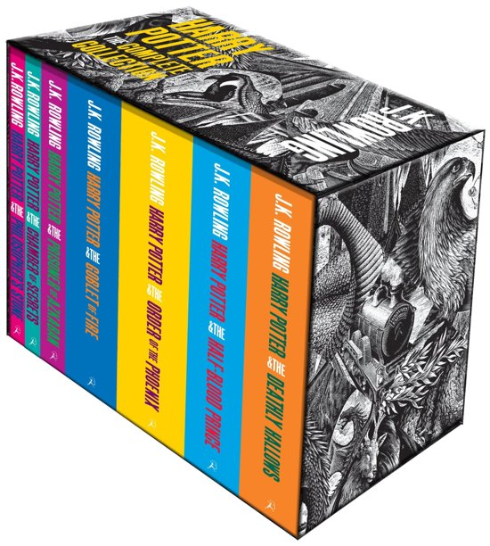 Harry Potter Boxset (1-7) - J.K. Rowling