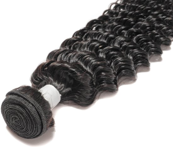 "26"" - #1B - Deep Wave Bundle - Brazilian Hair"