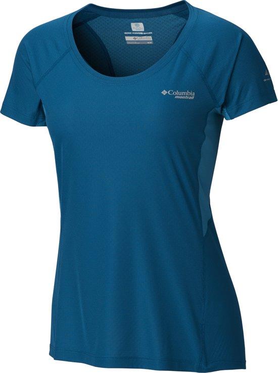 Columbia Titan Ultra Ii Short Sleeve Sportshirt Dames - Siberia