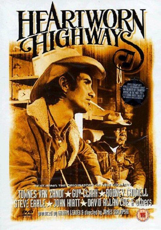 CD cover van Heartworn Highways van Townes Van Zandt