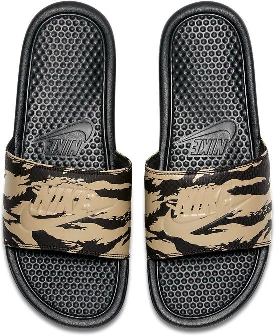 Mannen zwart Maat Jdi Benassi Nike Slippers 5 42 Kaki bruin BqCYWzw1