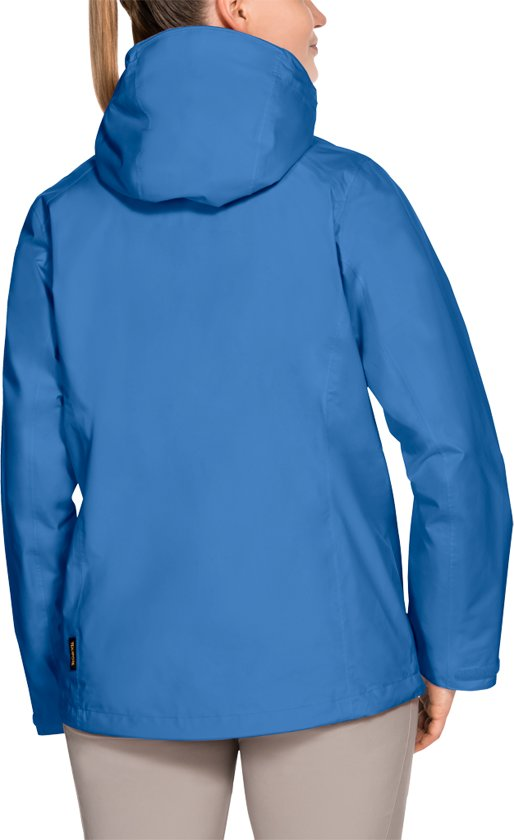 Jack wolfskin seven lakes jacket ws wave blue 6 w xl
