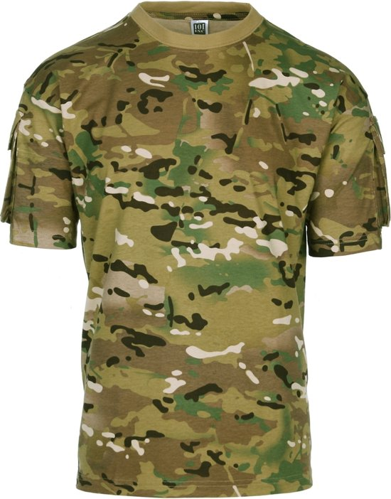 Tactical Pocket T shirt 101inc Multi Camo q1aOx6wp