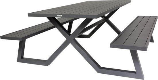 Picknick Tafel Aluminium.Bol Com Maximavida Picknicktafel Exclusieve Omlijsting Aluminium