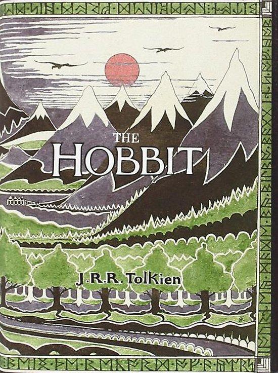 Boek cover The Hobbit van j. r. r. tolkien (Paperback)