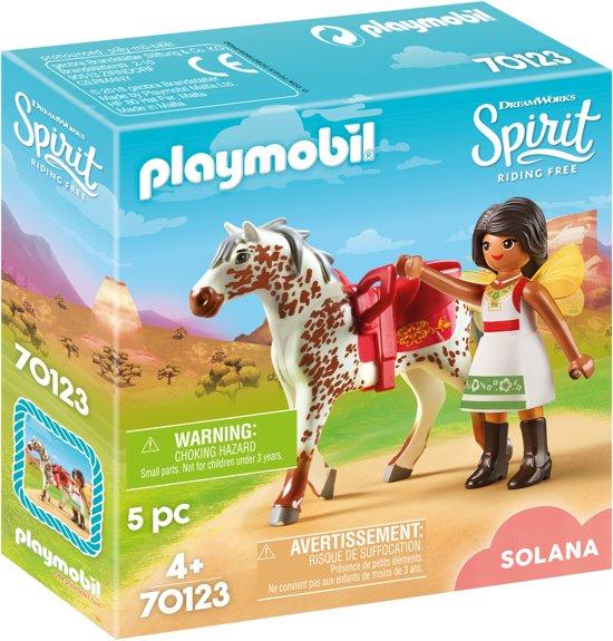PLAYMOBIL Voltige met Solana - 70123
