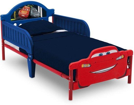 Baby En Peuterbed.Bol Com Delta Children Cars Disney Junior 3d Peuterbed Rood