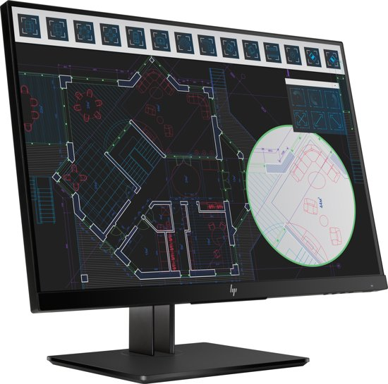 HP Z24i G2 24'' Full HD LED Zwart computer monitor