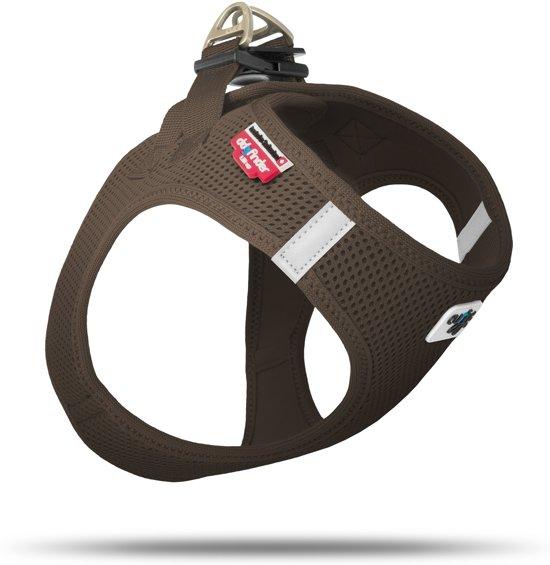 Curli Air-Mesh - hondentuig - XS - borstomvang 32-36 cm - Bruin