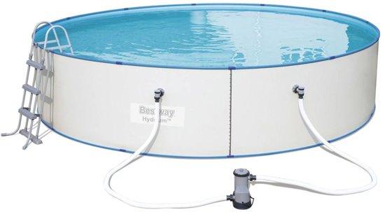 Bestway Hydrium zwembad stalen frame rond 488 x 107 cm