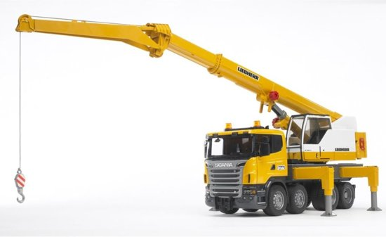 Bruder Scania Liebherr Kraanwagen