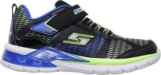Skechers Erupters Ii - Onde De Lave Junior De Chaussures De Sport De L'espadrille - Taille 23 - Mixte - Bleu / Vert AMeusxsHHt