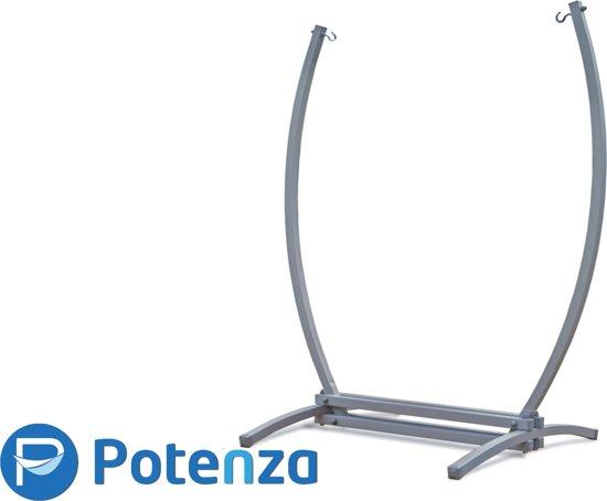 Potenza gazelle - Stabiele hangstoelstandaard met Extra grote hangstoel,  Hangstoelset