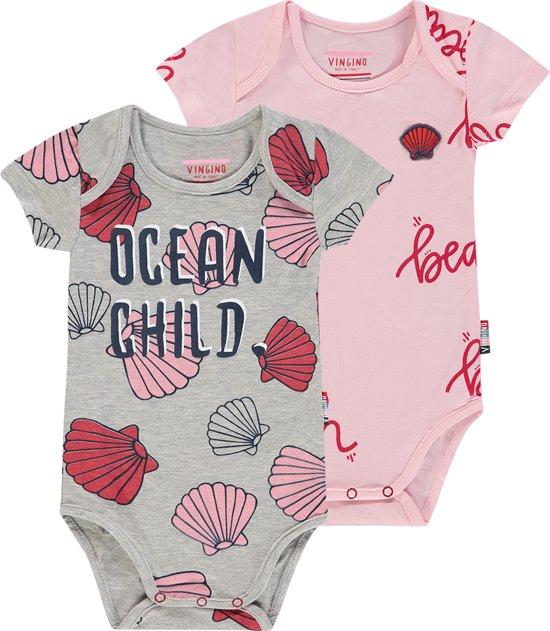 65d27754cc7fce Vingino Meisjes Ondergoedsetje - Baby Pink - Maat 80