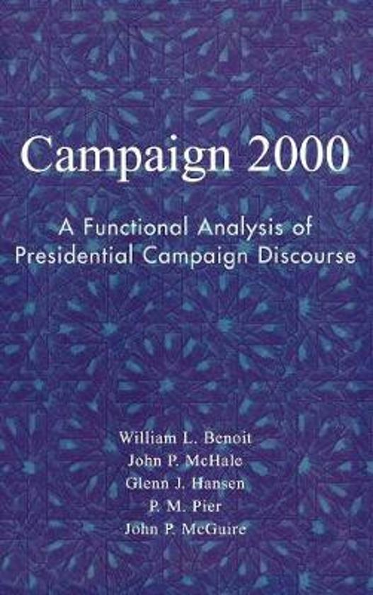 an analysis of presidential campaigns