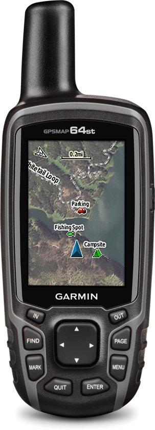 Garmin GPSMAP 64st Handheld 2.6'' TFT 260.1g Zwart navigator