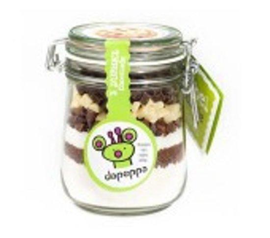 Dapeppa Koekjesmix 3 Dubbel Chocolade