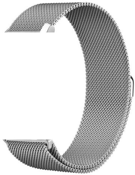 Milanees bandje Zilver geschikt voor Samsung GEAR S3 & Galaxy Watch 46mm - SmartphoneClip.nl