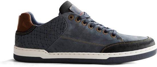 Maat 45 Sneaker Heren W Leren Nogrz burn Blauw wYUqA1x