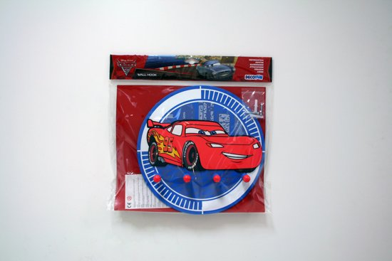Cars Slaapkamer Decoratie : Bol disney cars kapstok foam rood blauw cm
