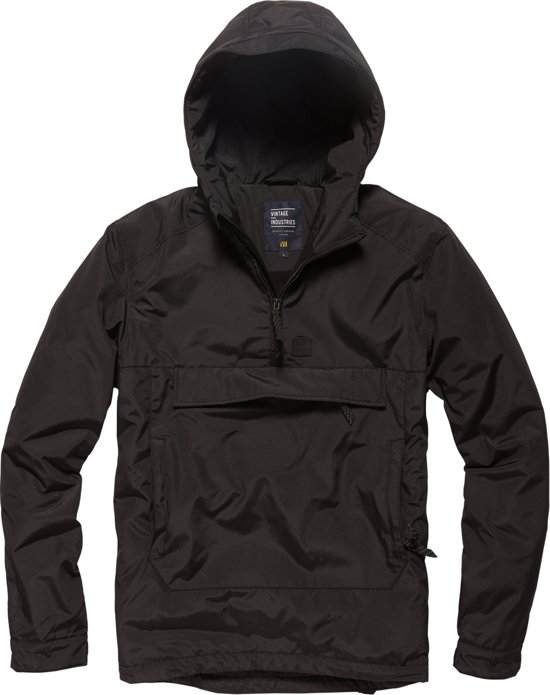 Winter Hopwood Vintage Industries Anorak Black HBOxwaqT