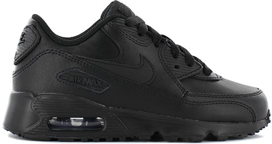 d94be6e129b bol.com | Nike Air Max 90 PS –kinderschoen-zwart leer - 833414-001 ...