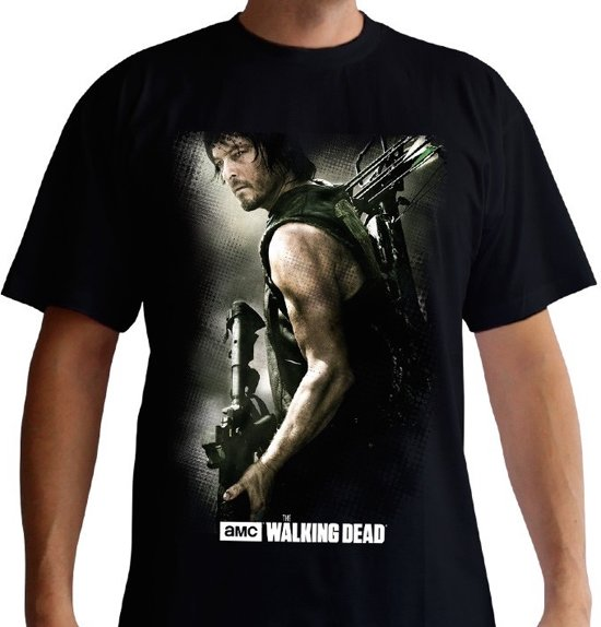 THE WALKING DEAD - T-Shirt Daryl Crossbow (M)