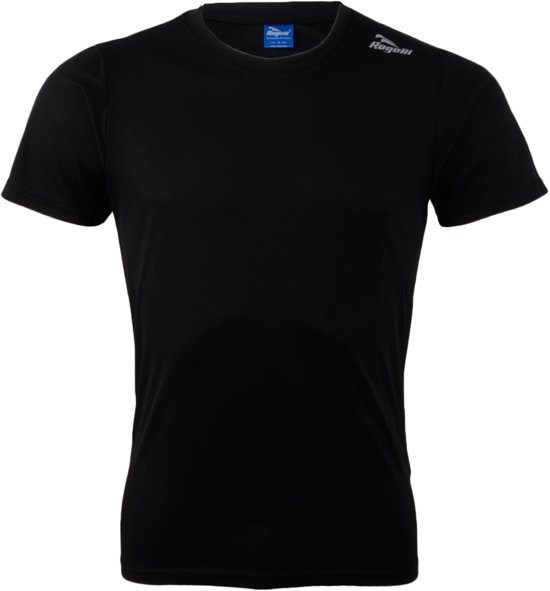 Rogelli Promo Running T-shirt - Sportshirt - Mannen - Maat XXXL - zwart