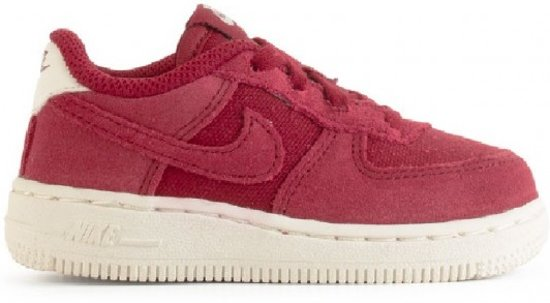save off 50740 52a70 Nike Air Force 1 Suede - Rood - Unisex - Maat 18,5