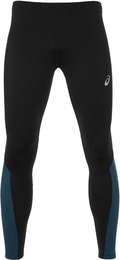 81e725b1a5884e Asics Winter Tight Sportbroek - Maat S - Mannen - zwart blauw