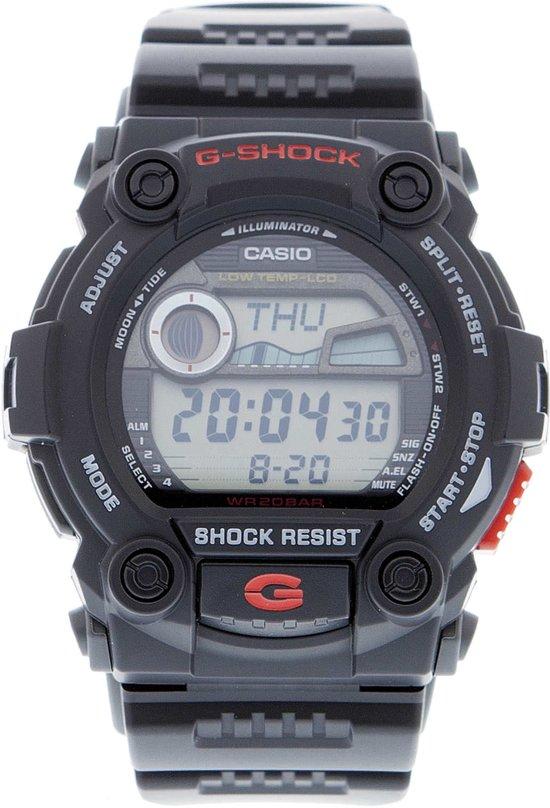G Shock Zwart Met Rood.Bol Com Casio G Shock G Rescue G 7900 1er Horloge 46 Mm