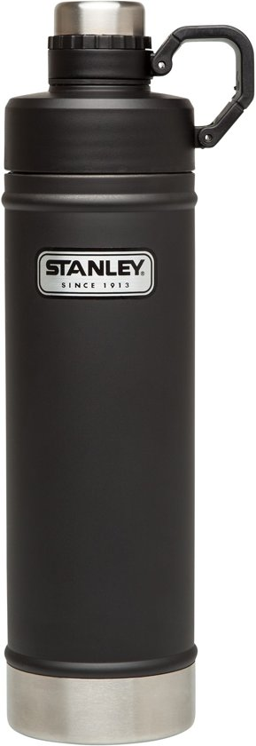 Stanley Classic Vacuum Drinkfles - 750 ml - RVS - Matte Black