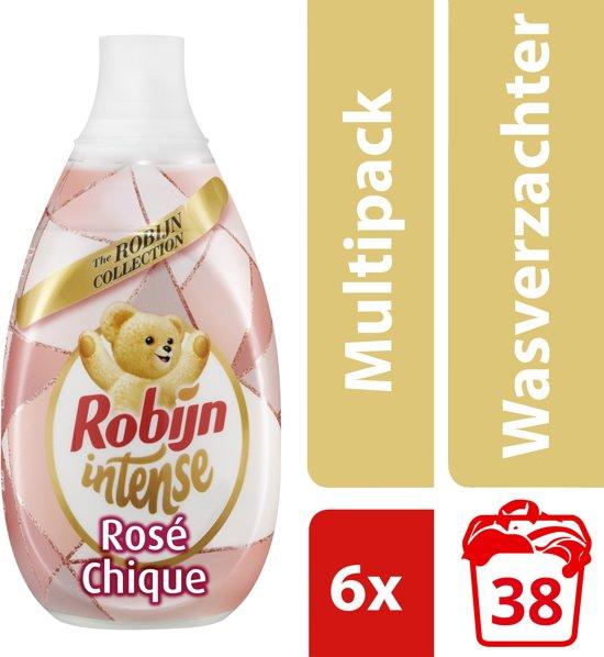2a9823f8170 Robijn Intense Rosé Chique wasverzachter - 228 wasbeurten - 6 x 570 ml