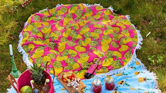 Covers & Co Lemons Roundie à 150 cm