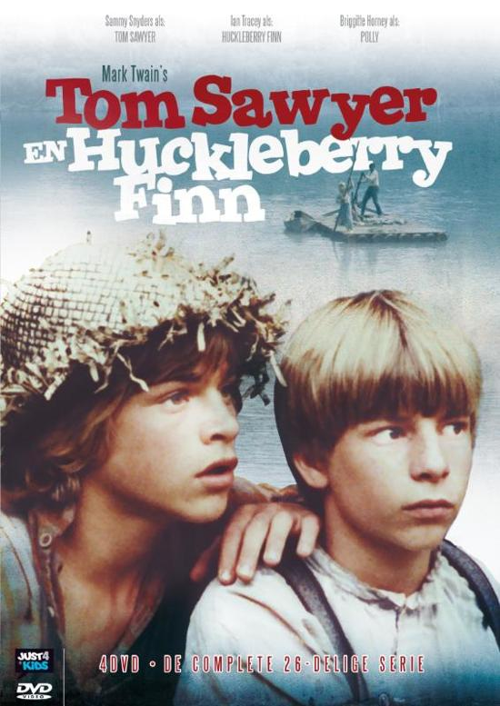 Cover van de film 'Tom Sawyer & Huckleberry Finn'