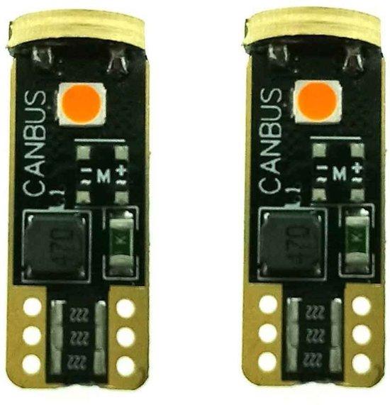 X-Line Canbus LED W5W Orange Platinum Series