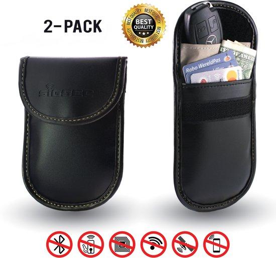 25d590c68f9 SIGNALSECURE - 2-Pack - Autosleutel Etui - RFID Bescherming - Anti-Diefstal  hoesje