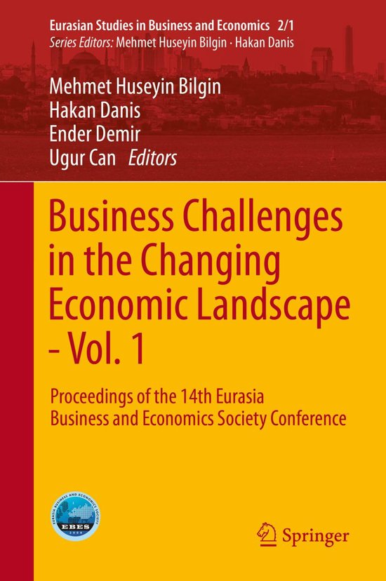 Business Challenges in the Changing Economic Landscape - Vol. 1