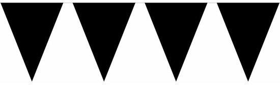 Halloween Zwarte vlaggenlijn 10 meter