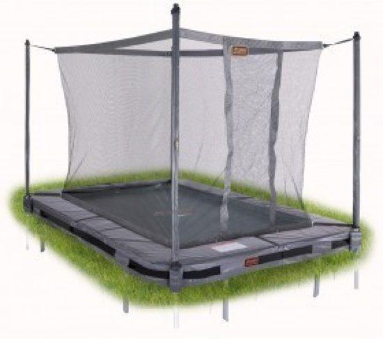Avyna PRO-LINE InGround trampoline 203 (215x155) Grijs