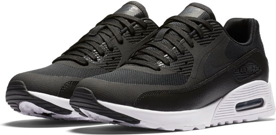 new concept b2ed6 4f0be Nike Air Max 90 Sneakers Dames - zwartgrijswit