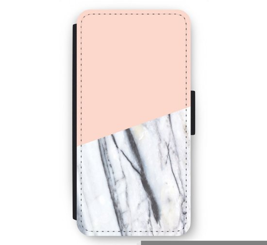 iPhone 6/6S Plus Flip Hoesje - A touch of peach